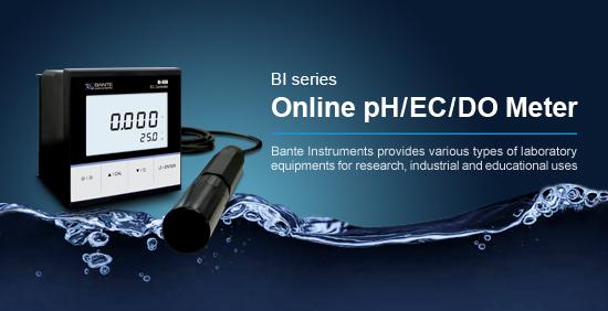 Online pH/EC/DO Meter
